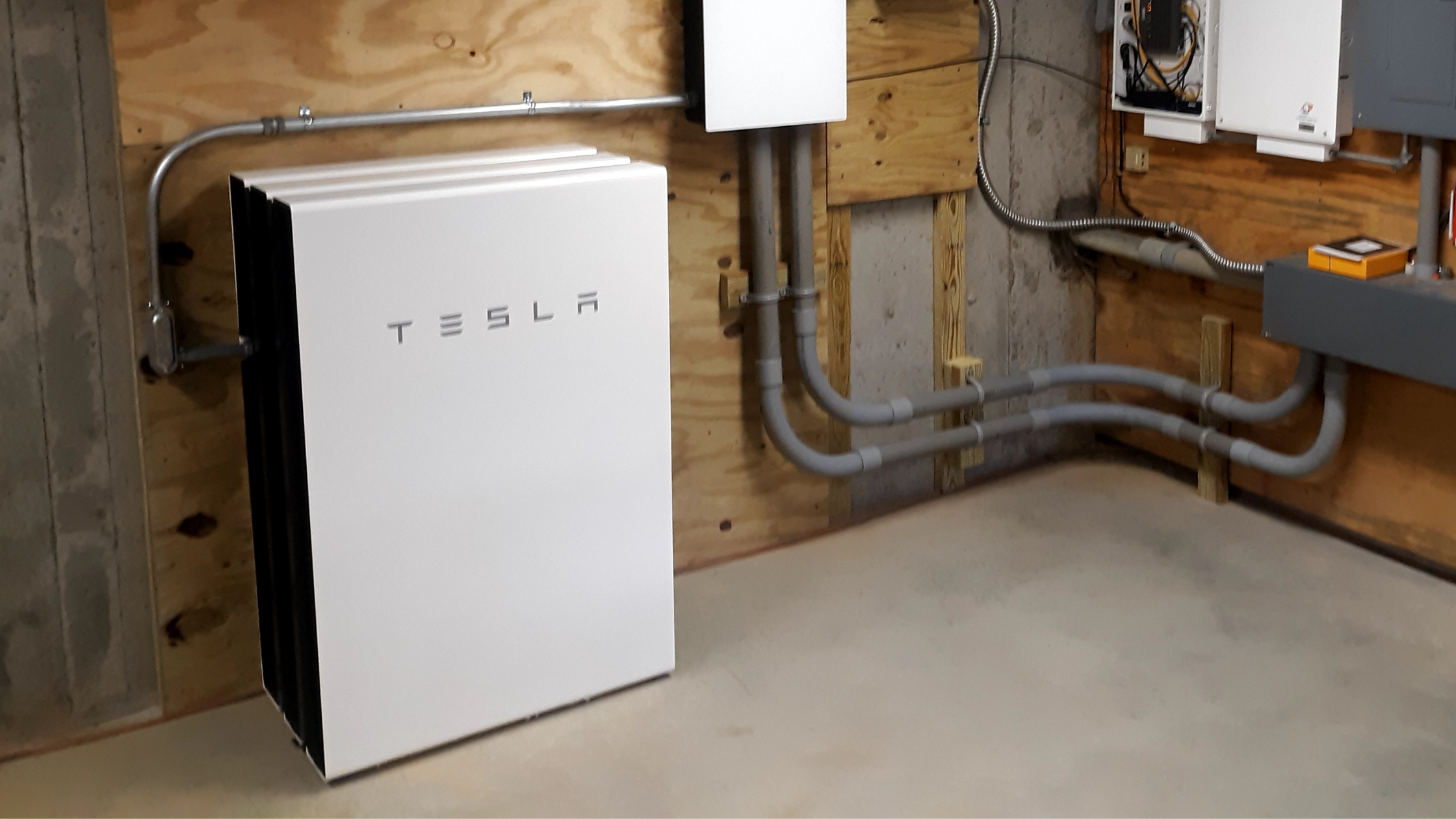 Tesla Powerwall installed by Green Mountain Solar