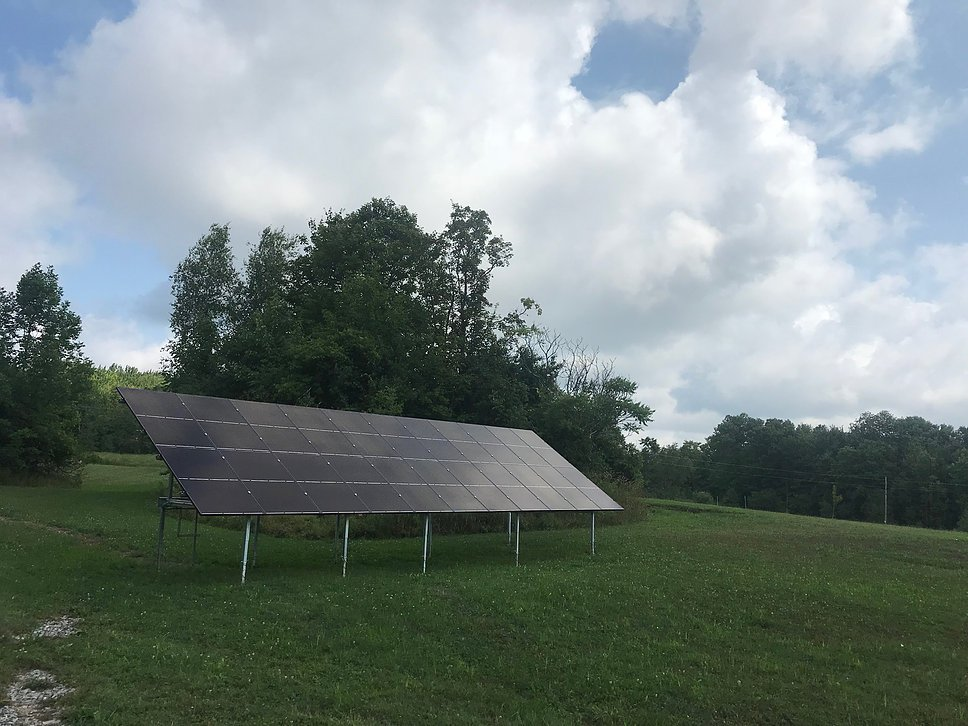 22 Panel Hanwha Solar Ground Mount <p>Fairfield, VT Solar Installation</p>