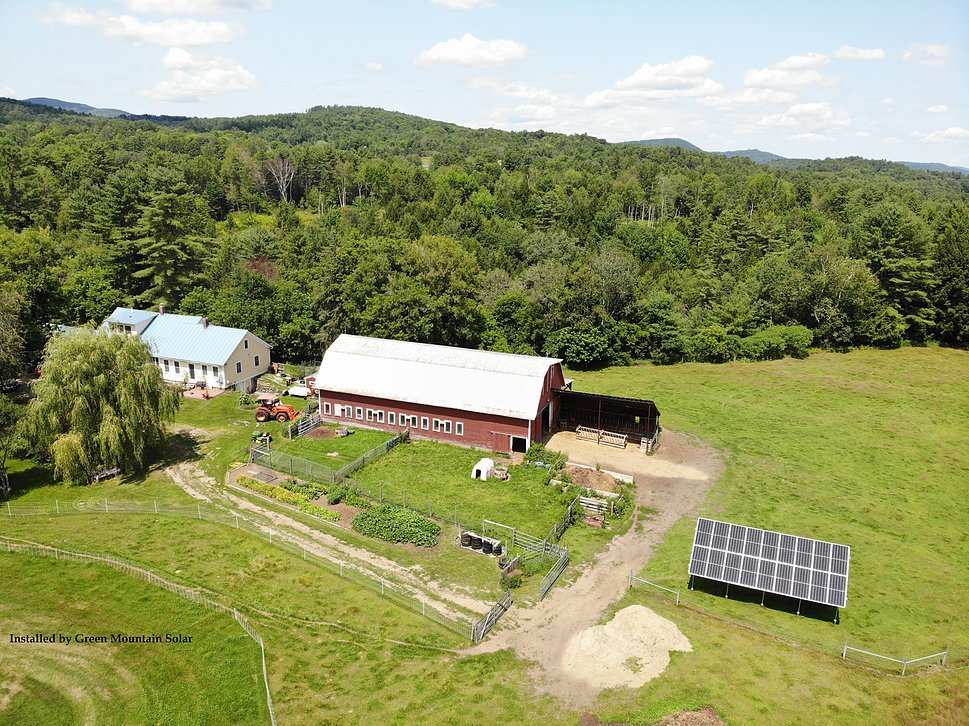 6.93kW Ground Mount Array <b>East Ryegate Solar Ground Array Install.  Using Q-Cell 380w modules and Enphase IQ7+ microinverters.</b>