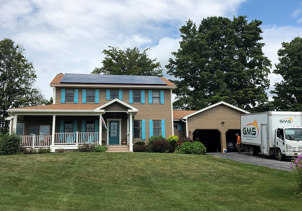 Rutland Roof Mount Solar Array <b>41 LG NeonR 370w modules with the Enphase IQ7+ microinverters.</b>