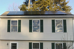 Successful installation of solar panels-1